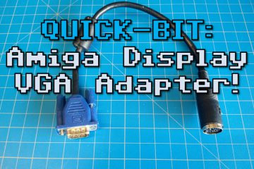QUICK-BIT: Amiga Display VGA Adapter