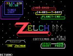 Zelch 128 PETSCII Intro Screen