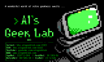 Al's Geek Lab BBS ad